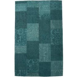 Laagpolig-vloerkleed-patchwork-aqua-blauw1