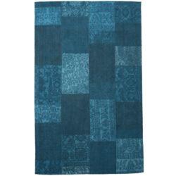 Laagpolig-vloerkleed-patchwork-blauw1