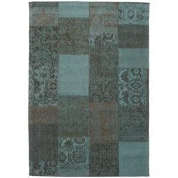 Turquoise-patchwork-vloerkleed