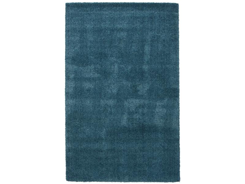 Comfortabel Vloerkleed Babykamer : Hoogpolig vloerkleed blauw lounge collectie kameraankleden