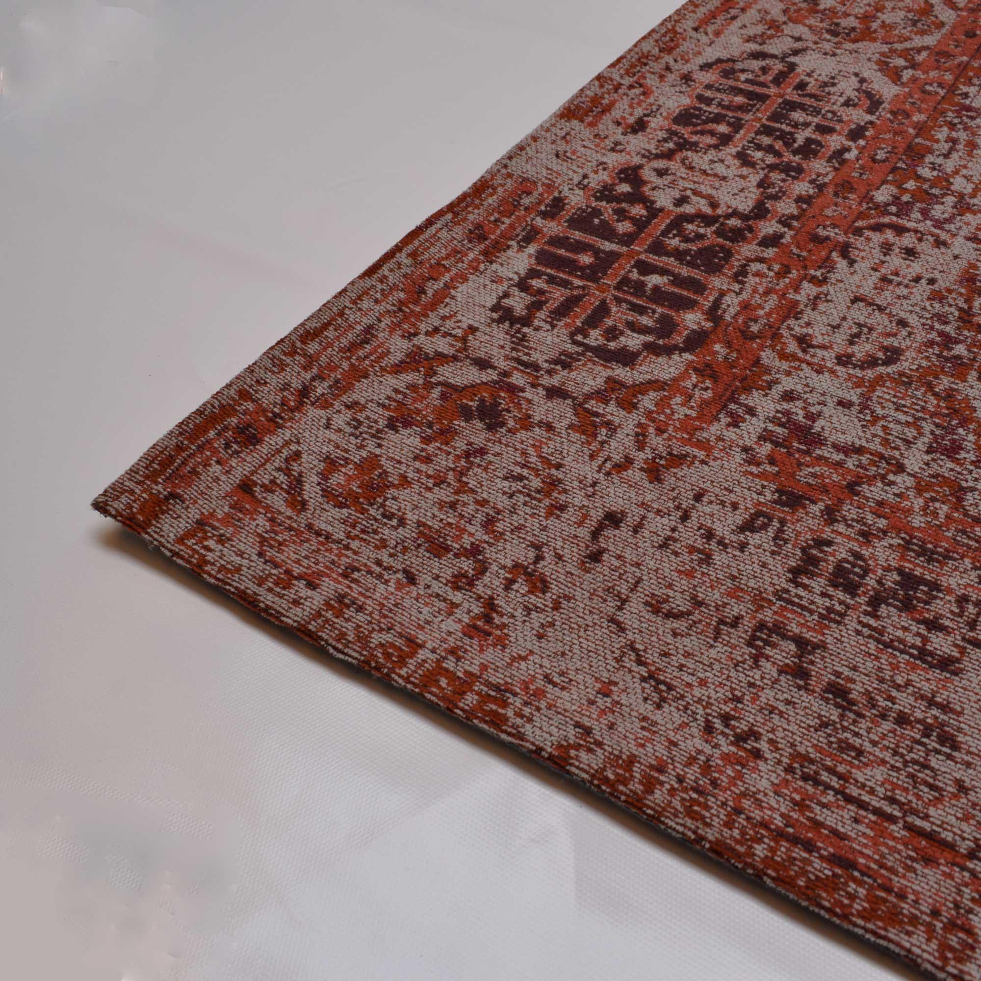 ceb08438b2747c Rood vintage vloerkleed kopen