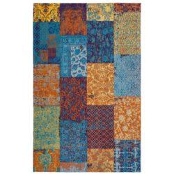 Vloerkleed-Patchwork-kleurrijk