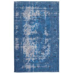 Blauw vintage karpet