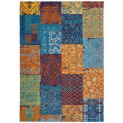 Kleurrijk patchwork vloerkleed