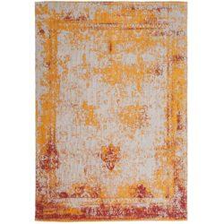 Oranje vintage vloerkleed