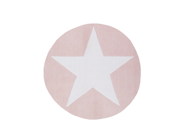 ca53f5a891630e Rond Roze Kinderkamer Vloerkleed