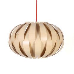 Houten Hanglamp Basic Oval