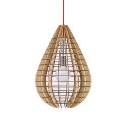 Houten Hanglamp Drip