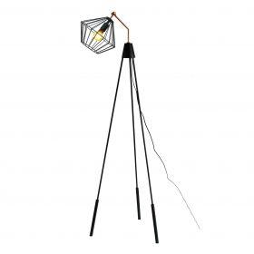 Stalamp-Industrieel-Draad-Zwart-170cm-design