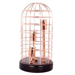 Tafellamp-Koperdraad-Rosé-design