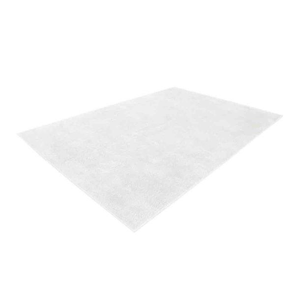 vloerkleed wit hoogpolig