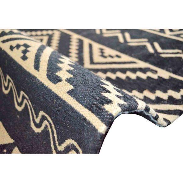 Vloerkleed-Vintage-Inca-ZwartWit