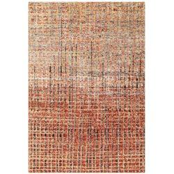 rood-retro-vloerkleed-line
