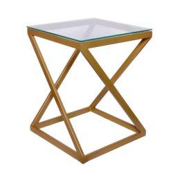 Bijzettafel Design Glass Goud