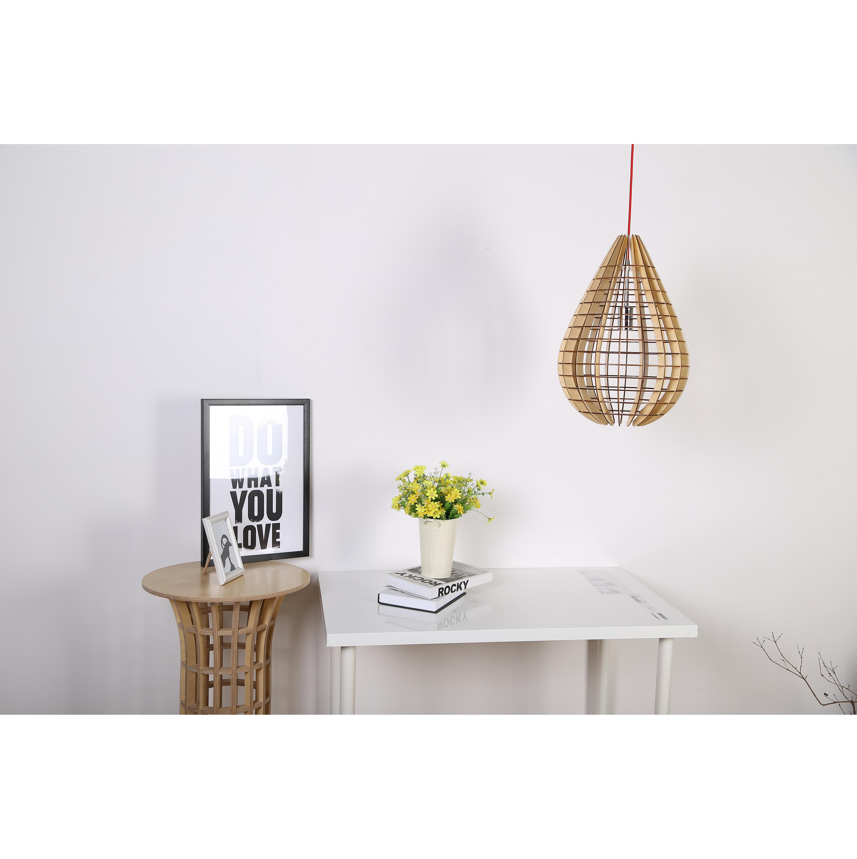 Houten design hanglamp kopen lamp verlichting for Design lamp hout