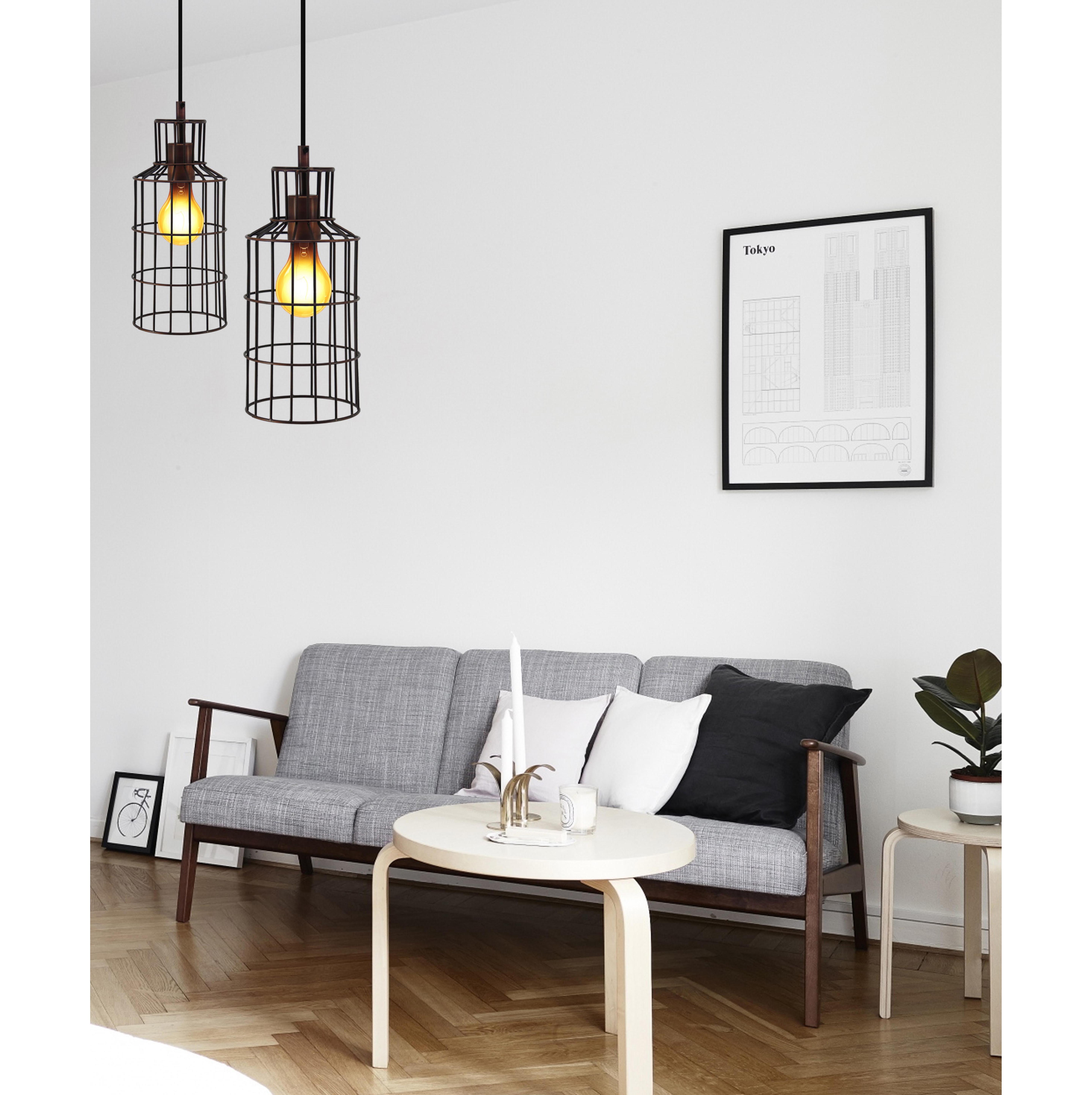 industriele hanglamp koper interesting industriele hanglamp aan ketting metaal eigentyds. Black Bedroom Furniture Sets. Home Design Ideas