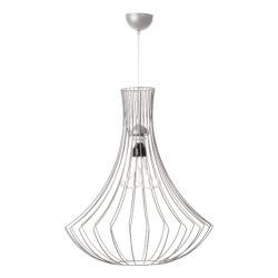 Hanglamp-Kroonluchter-Draad-Zilver-design