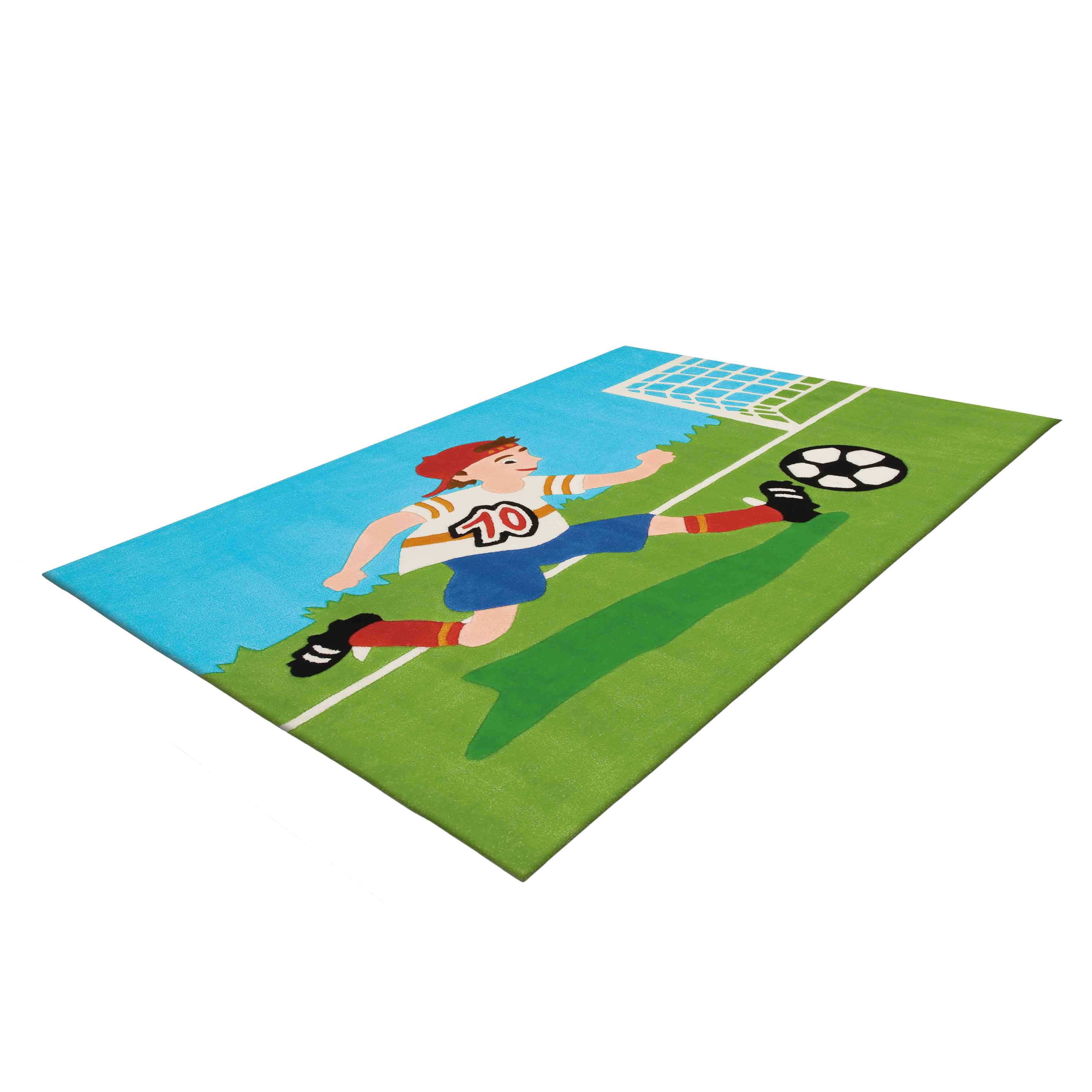 Extreem Voetbal vloerkleed kopen?   Kinderkamer Vloerkleden @JU18