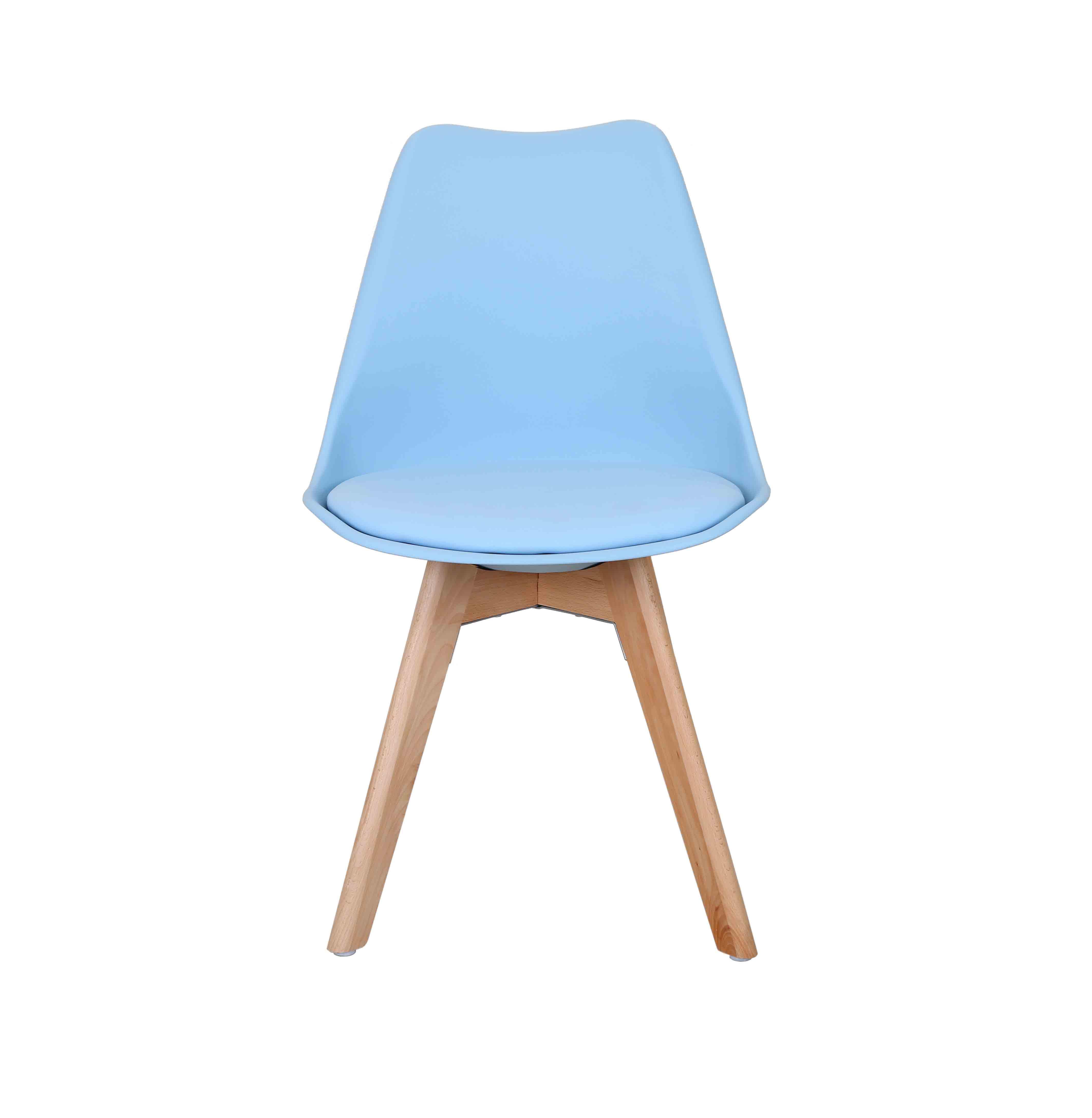 Simple stoel modern design college blauw with stoel blauw for Stoel kind ikea