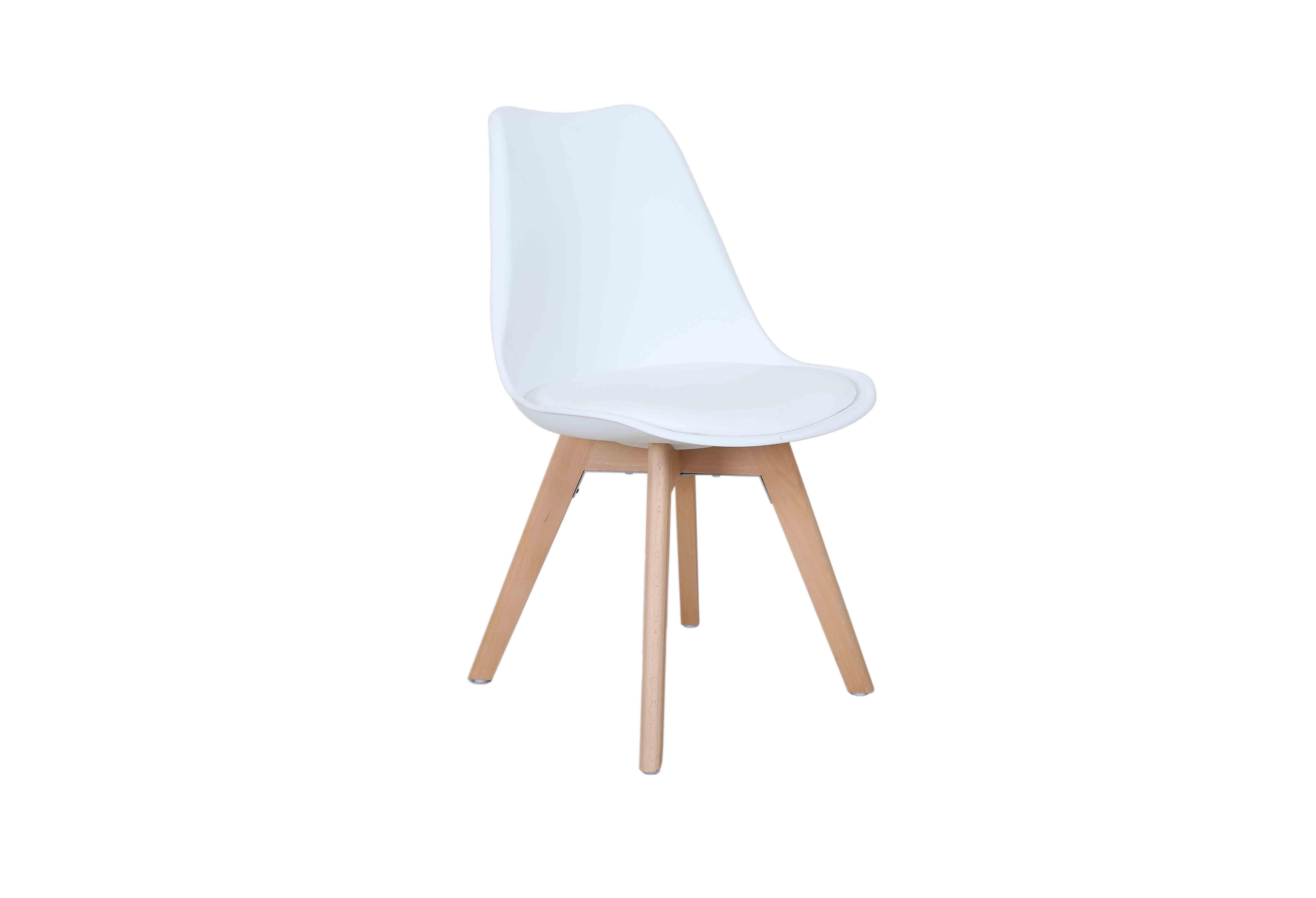 Design stoel wit design eettafel stoelen designstoel leaf wit