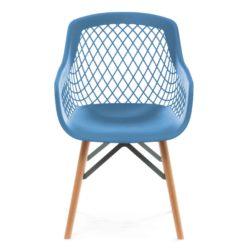 Stoel Modern Design Pure Blauw