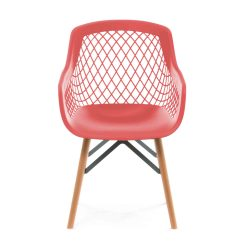 Stoel Modern Design Pure Rood