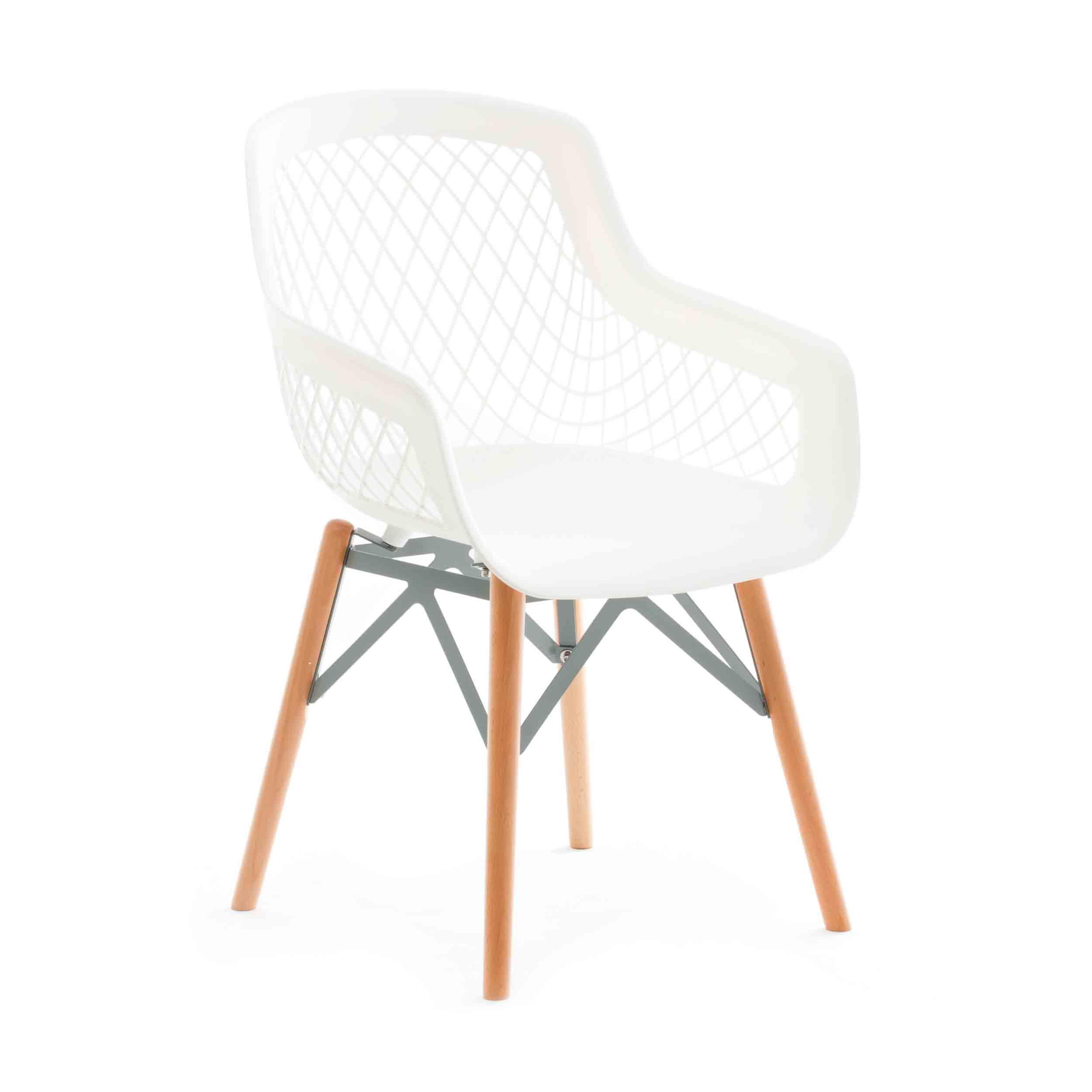 Witte kunststof eetkamerstoelen kopen stoelen for Witte kunstof eetkamerstoelen