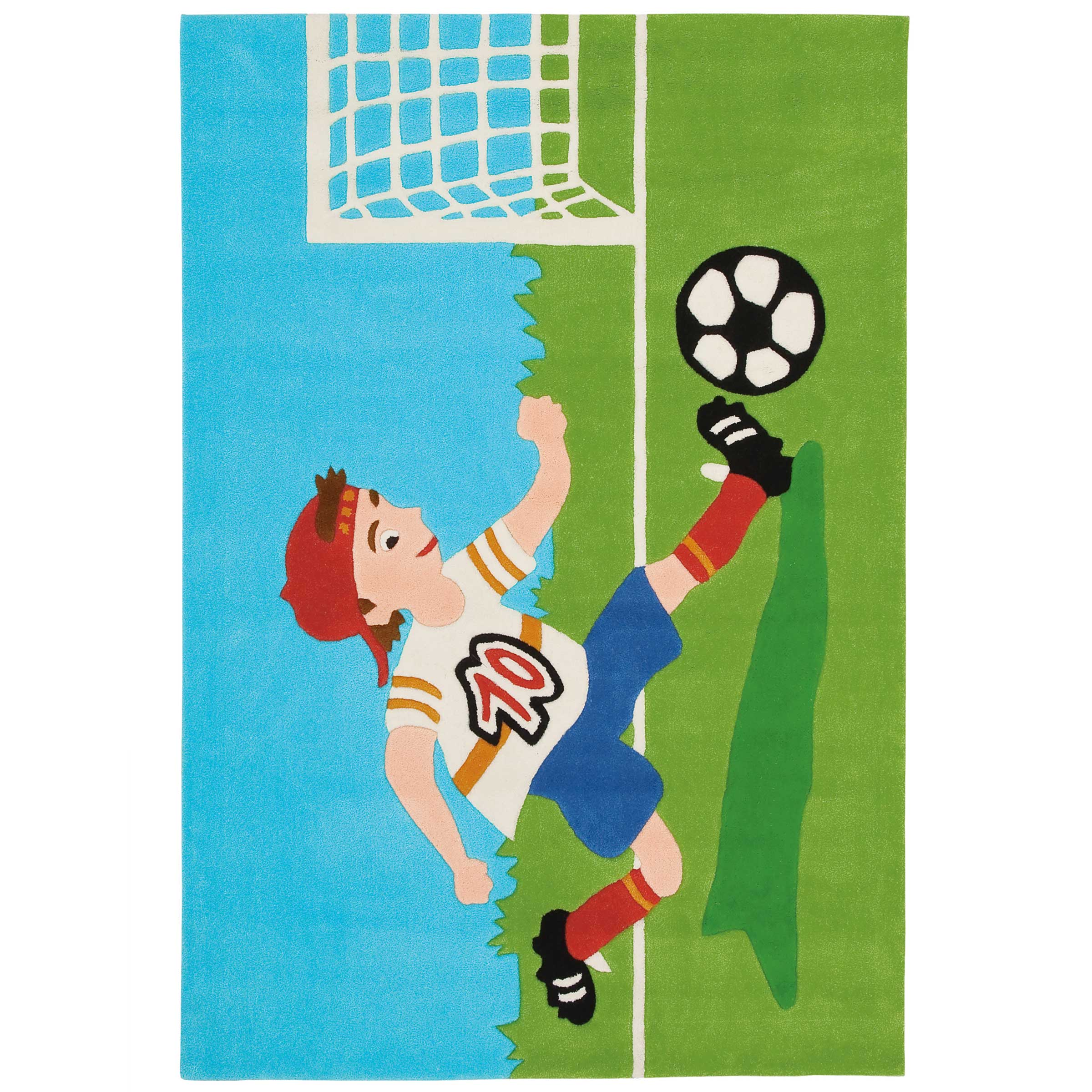 Uitgelezene Voetbal vloerkleed kopen?   Kinderkamer Vloerkleden UL-48