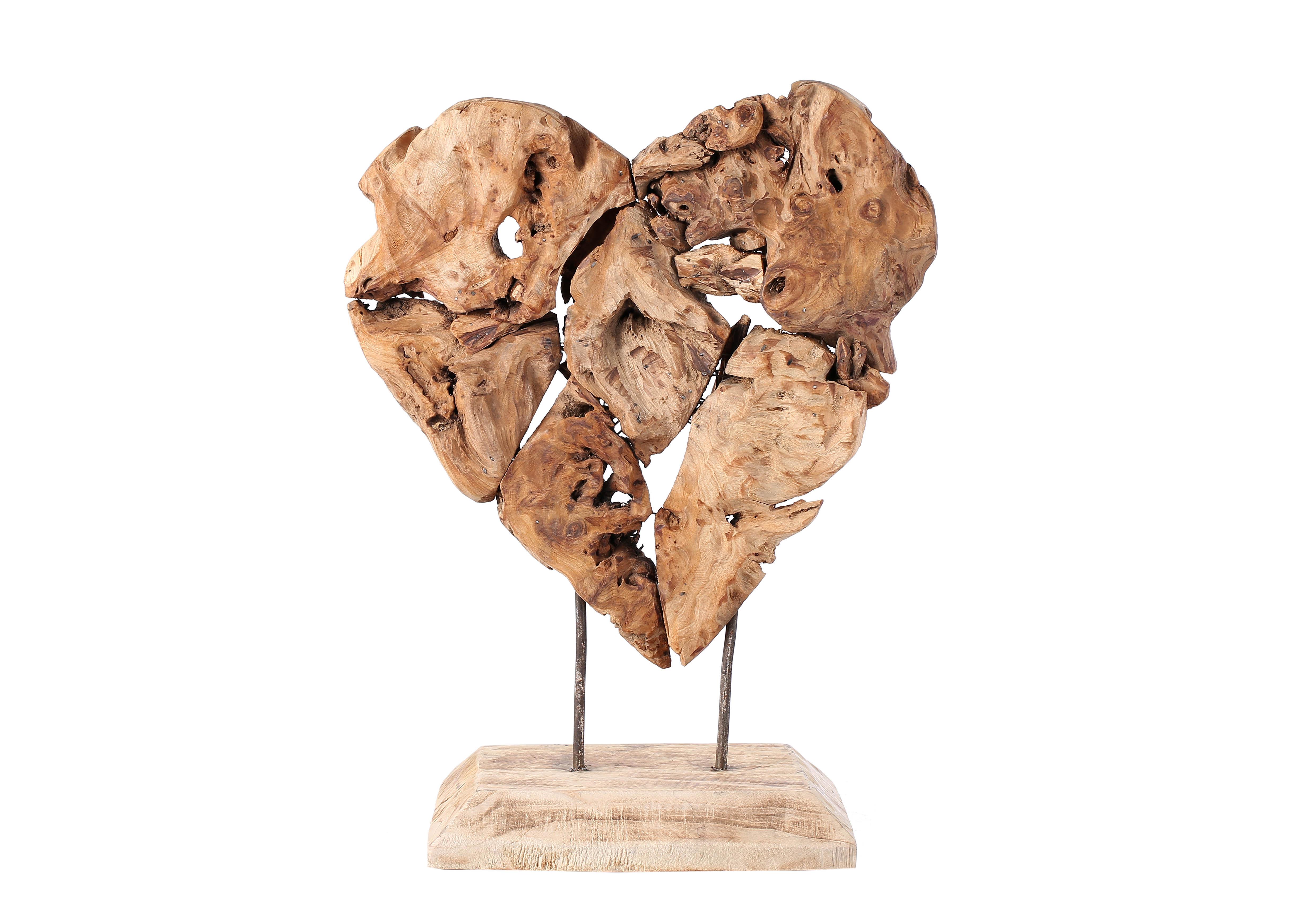 Op zoek naar een hart van hout woondecoratie for Houten schijven decoratie