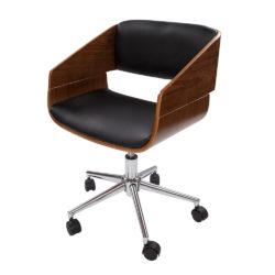Design Bureaustoel Keona Hout-Zwart