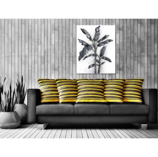 Schilderij Aluminium Palm I 80x100cm