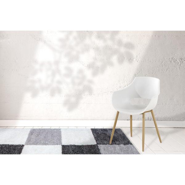 Witte design stoelen
