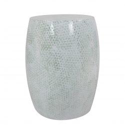 Sidetable Baril Metal Mintgroen