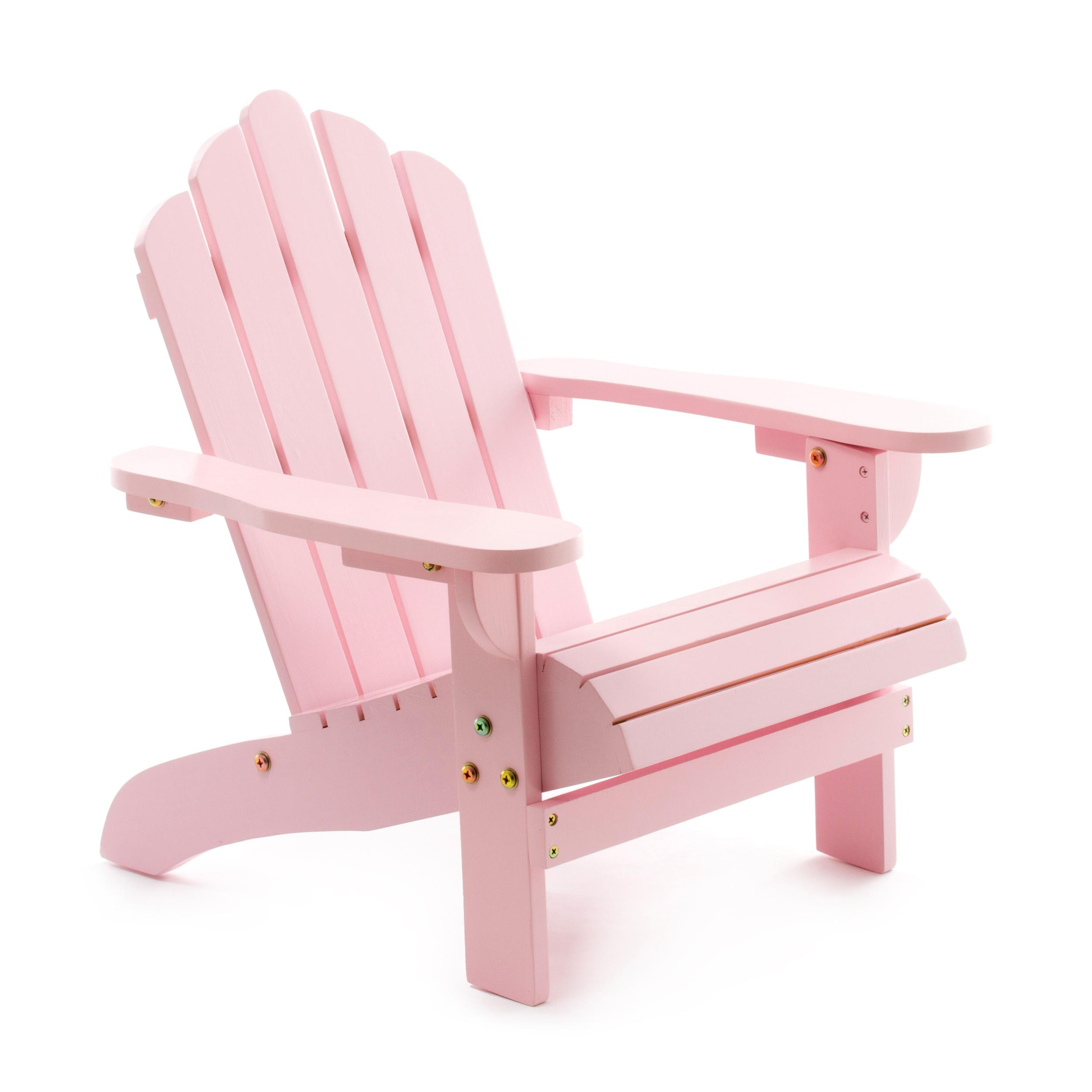 Wonderbaar Roze kinderstoeltje van hout kopen? | Kinderartikelen MH-39