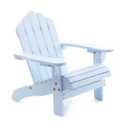 Kinderstoel Hout Pastelblauw