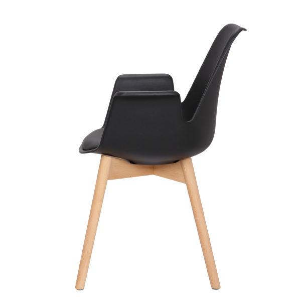 zwarte-design-eetkamerstoelen-met-hout