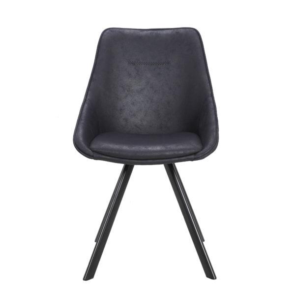 Zwarte eetkamer stoelen