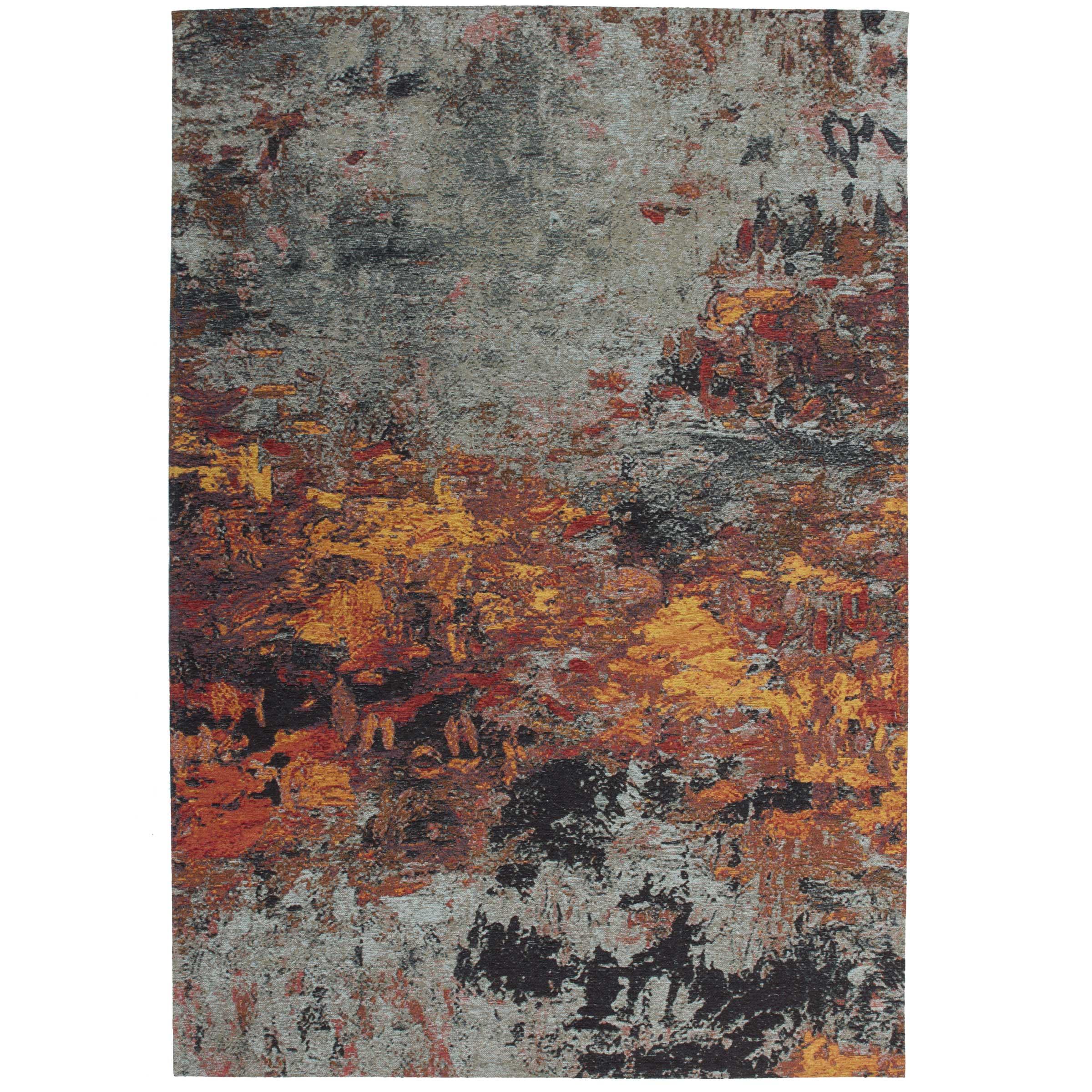 Onwijs Vintage tapijt met grijs & rood   Vintage vloerkleden MS-47