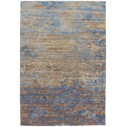 vintage-tapijt-taupe-blauw-ocean