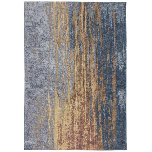 blauw-vintage-design-vloerkleed