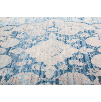 vintage lichtblauw vloerkleed Dali