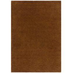 bruin laagpolig vloerkleed