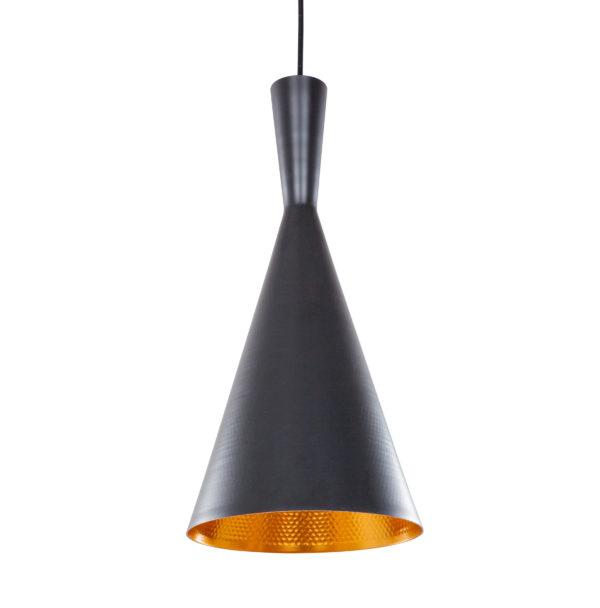 Hanglamp Fiormo Zwart-Goud