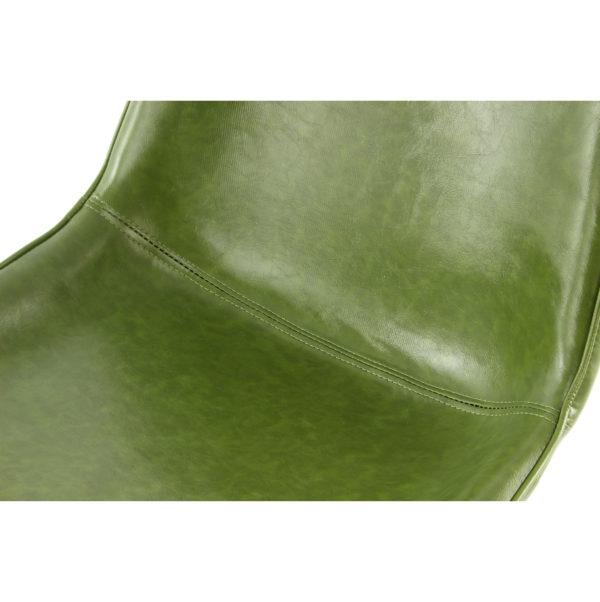 groene retro eetkamerstoelen vintage