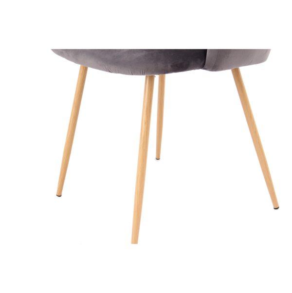 Eetkamerstoelen metalen stoelpoten