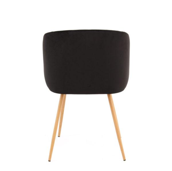 Zwarte stoel eetkamer