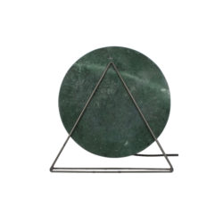 Tafellamp Disk Marmer-Legergroen