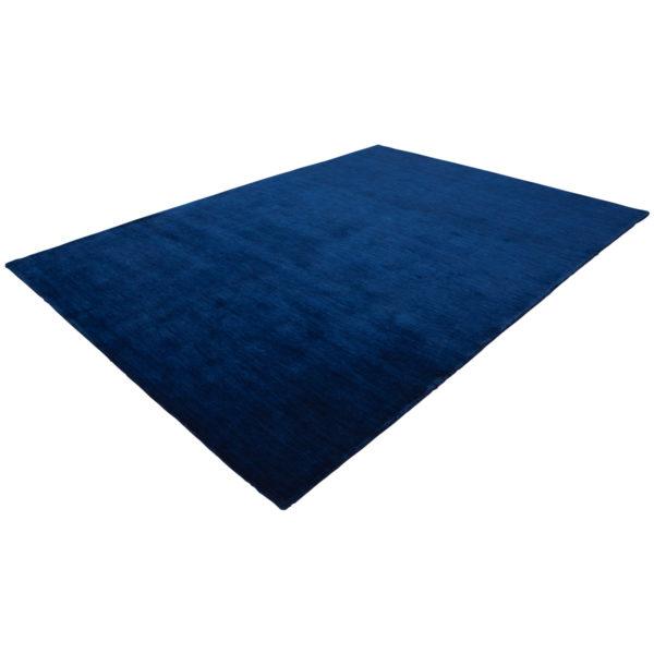 blauw-laagpolig-vloerkleed
