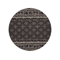 zwart-rond-vloerkleed-retro