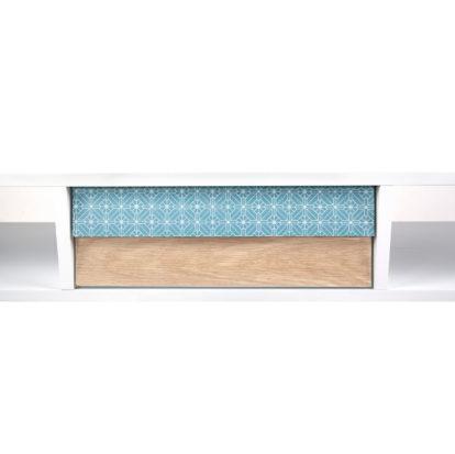 Wandkast Morris Wit-Blauw